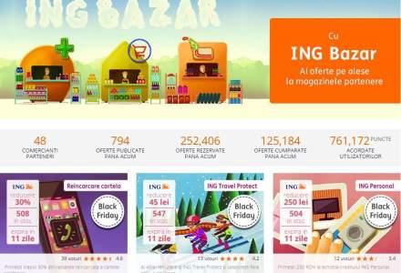 ING Bank a lansat in platforma ING Bazar patru oferte de Black Friday