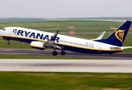 Ryanair ofera bilete la 5 euro din si spre Bucuresti