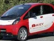 Modelul electric Mitsubishi...