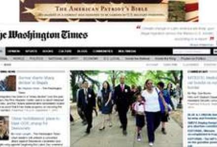 Inca o publicatie vanduta cu 1 dolar: The Washington Times