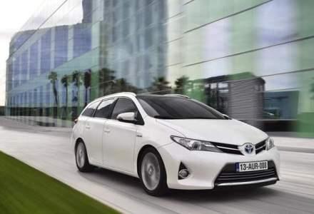 Toyota a ramas lider in functie de vanzari in octombrie, devansand VW