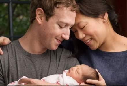Mark Zuckerberg a devenit tata. Fondatorul Facebook isi doneaza 99% din actiunile sale pentru acte de caritate