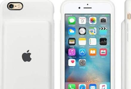 Apple lanseaza carcase care prelungesc autonomia iPhone-urilor