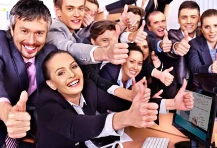 Studiu: Una din cinci companii a investit pana la 100.000 de euro pentru trainingul si starea de bine a angajatilor in 2015
