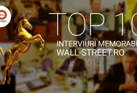 Top 10 interviuri memorabile pe Wall-Street.ro