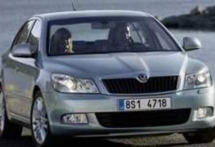 Skoda Auto, vanzari mai mari cu 13% dupa primele 8 luni