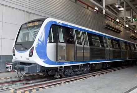 Spaniolii de la CAF au livrat prima o noua garnitura de metrou dintr-o serie de opt noi metrouri