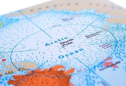 Fenomen rar la Polul Nord: Temperatura a depasit 0 grade, dupa o crestere cu aproape 40 de grade