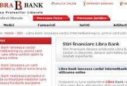Libra Bank lanseaza un card pentru tranzactiile online
