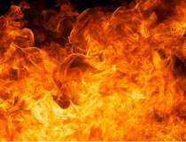Incendiu la un restaurant din...