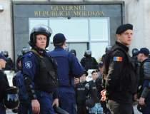 Proteste violente la Chisinau...
