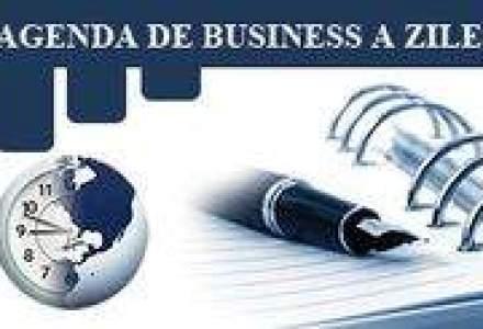 Agenda de business a zilei: Delegatia FMI, la Bucuresti