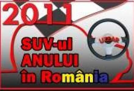 Afla care este SUV-ul anului 2011 in Romania