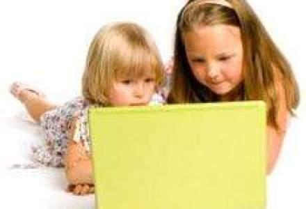 Copiii romani, printre europenii care acceseaza cel mai tarziu internetul pentru prima oara