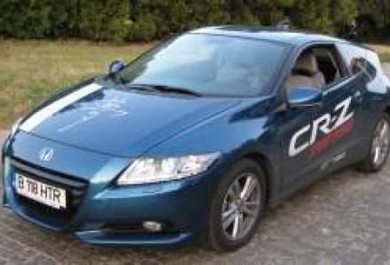 Test Drive Wall-Street: Honda CR-Z - model coupe hibrid