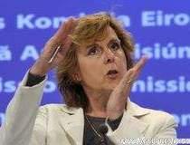 Comisarul european Connie...