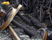 Un tren a deraiat in Salaj:...