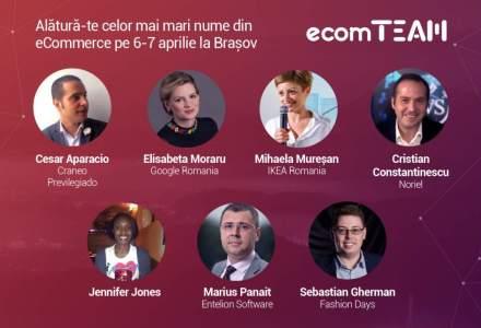 Specialisti romani si internationali din e-commerce si digital vin la ecomTEAM, powered by FAN Courier