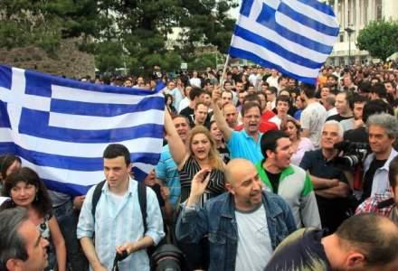 Violente sporadice la Atena, in cursul unui miting al fermierilor