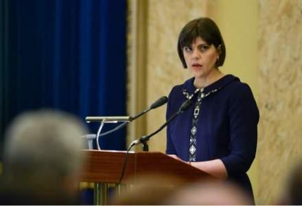 Codruta Kovesi a sesizat CSM in legatura cu o serie de afirmatii prezentate de Antena 3 in legatura cu pozitia ei fata de cazul Intact