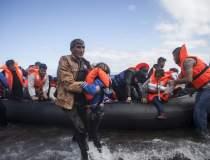 Doi copii migranti mor...