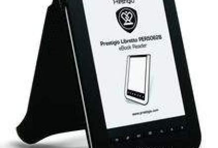 Asbis vrea sa vanda 3000-4.000 de e-readere Prestigio anul viitor