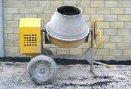 Productia de ciment a scazut cu 12,6% in primele noua luni