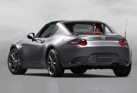 Mazda a dezvaluit MX-5 RF - varianta cu hardtop retractabil a roadster-ului japonez