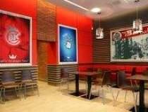 Burger King sta la masa cu...