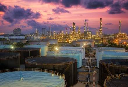 Productia industriala in scadere, trasa in jos de sectorul extractiv