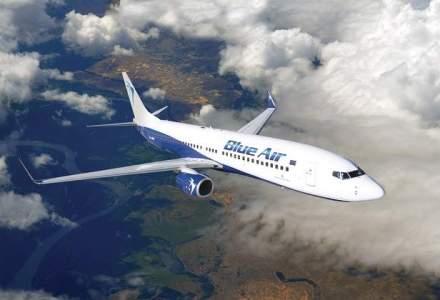 Blue Air va avea doua zboruri zilnice pe ruta Bucuresti-Cluj Napoca, de la 90 lei