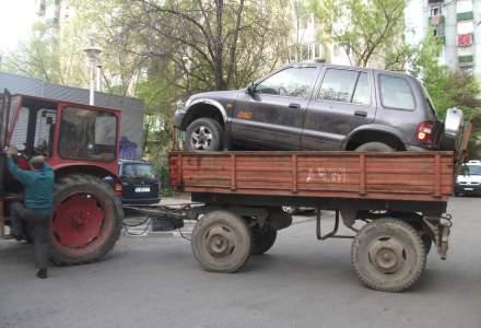 Primaria Sectorului 6 a demarat o actiune de ridicare a masinilor abandonate pe domeniul public