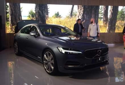 Volvo a lansat in Romania noile modele S90 si V90