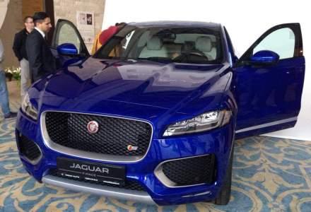 Crossover-ul Jaguar F-Pace a fost prezentat in Romania