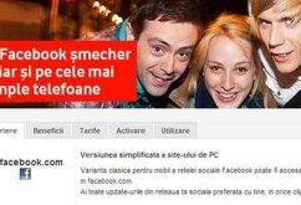 Vodafone mizeaza pe Facebook