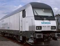 Doua locomotive electrice de...