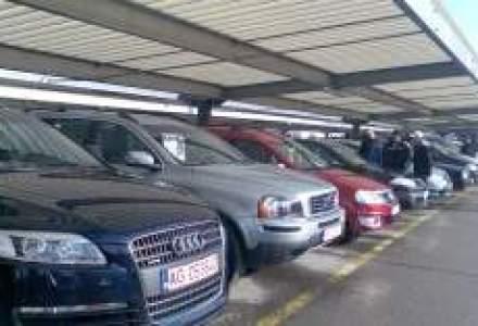 Cel mai mare targ auto din Romania, transformat din afaceri cu masini in bazar