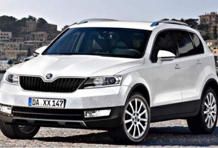 Skoda anunta ca SUV-ul de talie mare se va numi Kodiaq