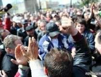 Protest spontan la rafinaria...