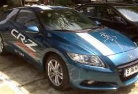 Honda Trading Romania vinde un lot de masini de companie hibride
