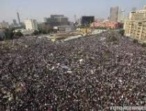 Manifestatie uriasa in Egipt
