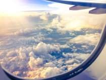 Fragmente din epava avionului...