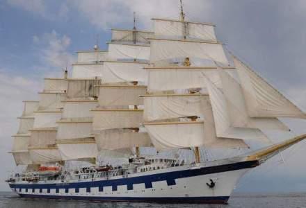 Royal Clipper, una dintre cele mai luxoase nave din lume, vine in premiera in Portul Constanta