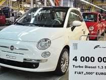 Fiat a produs patru mil. de...