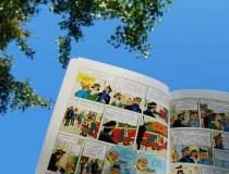 Primul album color cu Tintin,...