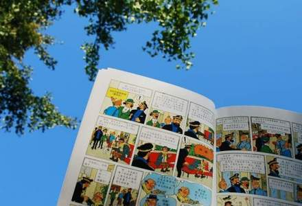 Primul album color cu Tintin, estimat intre 50.000 si 60.000 de euro, va fi scos la licitatie