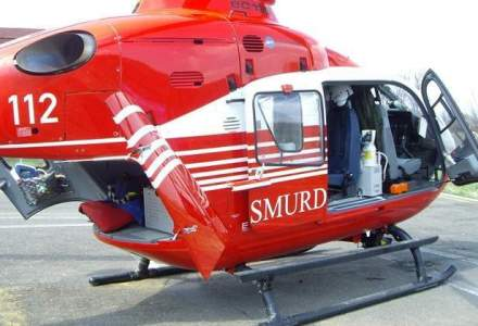 Elicopter SMURD, prabusit in Republica Moldova