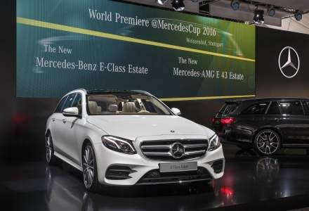 Mercedes-Benz a prezentat in premiera mondiala noua Clasa E Estate