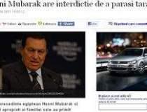 Hosni Mubarak are interdictie...