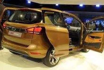 FOTO: Cum arata Ford B-Max, care va fi produs in Romania